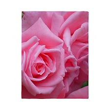 Pink Rose Twin Duvet