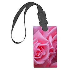 Pink Rose Luggage Tag