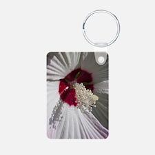 Hibiscus Flower Keychains