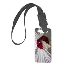 Hibiscus Flower Luggage Tag