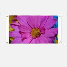 Purple Flower Banner