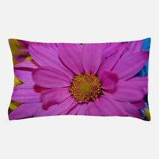 Purple Flower Pillow Case