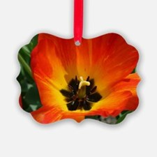 Orange Flower Ornament