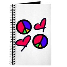 Peace and Love Journal