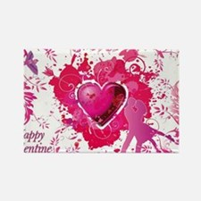 Love and Valentine Day Rectangle Magnet