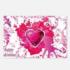 Love and Valentine Day Postcards (Package of 8)