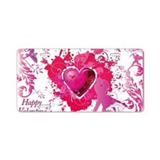 Love and Valentine Day Aluminum License Plate