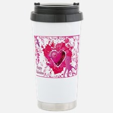 Love and Valentine Day Stainless Steel Travel Mug