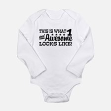Funny One Year Old Body Suit