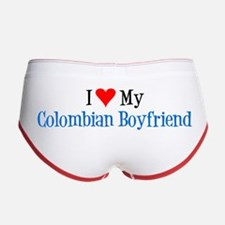 I Love My Colombian Boyfriend Women's Boy Brief