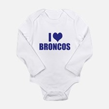 I heart BRONCOS Baby Outfits