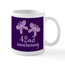 42nd Anniversary Keepsake Mugs