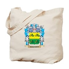 Ashcroft Coat Of Arms Tote Bag