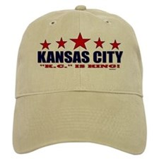 Kansas City K.C. Is King Baseball Cap