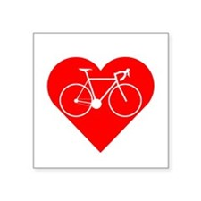 I Heart Cycling Sticker