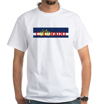 Bike Colorado T-shirt Colorado Mountain Bike T Shirt