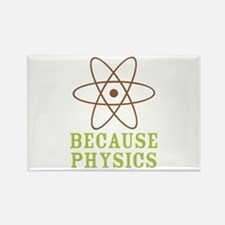 Because Physics Rectangle Magnet