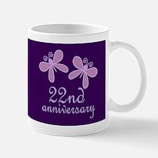 22nd Anniversary Keepsake Mugs