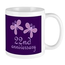 22nd Anniversary Keepsake Mugs