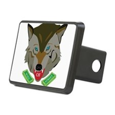 Ze Wolf of Wall Street Hitch Cover
