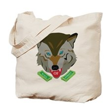 Ze Wolf of Wall Street Tote Bag