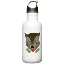 Ze Wolf of Wall Street Sports Water Bottle