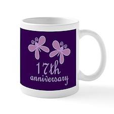 17th Anniversary Keepsake Mugs