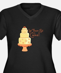 Let Them Eat Cake Plus Size T-Shirt