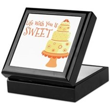 Life With You Is Sweet Keepsake Box
