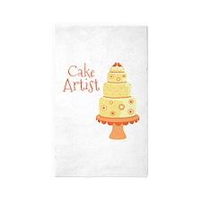 Cake Artist 3'x5' Area Rug