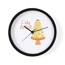 Cake Artist Wall Clock