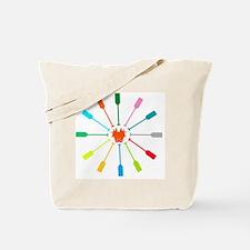 dragon like colorful paddle Tote Bag