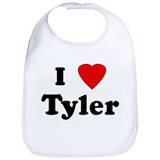 I Love Tyler Bib