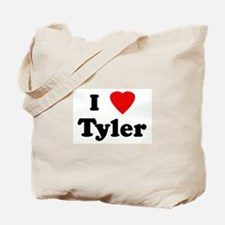 I Love Tyler Tote Bag