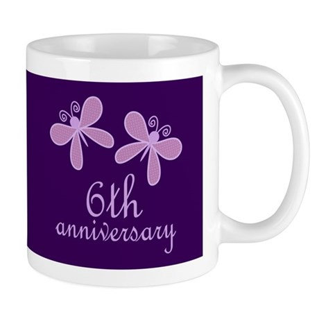 6th Anniversary Keepsake Mugs