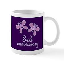 3rd Anniversary Keepsake Mugs