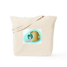 Last Blood Cafe Logo Image Tote Bag
