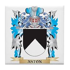 Aston Coat Of Arms Tile Coaster