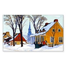 Gagnon - Winter Morning, Baie- Decal
