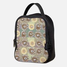 Hedgehog Party Neoprene Lunch Bag
