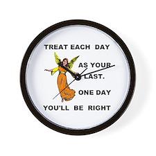 LAST DAY Wall Clock
