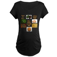 African Heritage and Health Week Maternity T-Shirt