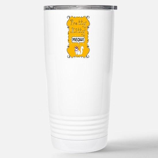 Pretty Kitty Meow! Travel Mug