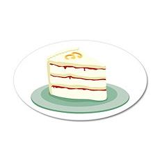 Wedding Cake Slice Wall Decal
