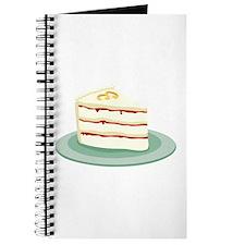 Wedding Cake Slice Journal