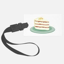 Wedding Cake Slice Luggage Tag