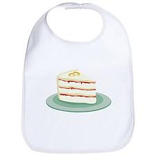 Wedding Cake Slice Bib