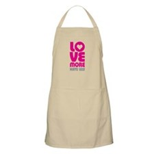 Love More Hate Less Apron