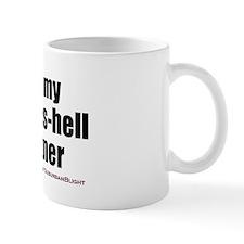 """Love My Sexy-As-Hell Partner"" Mug"