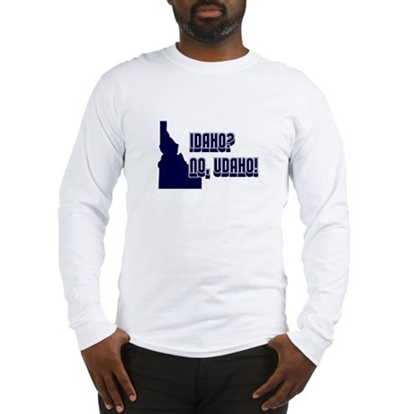 College Humor shirts Idaho Long Sleeve T-Shirt